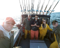 Mt. Vernon Wine Club members go fishing with us in Alaska!