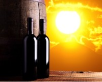 High summer temperatures make proper storage of wine important